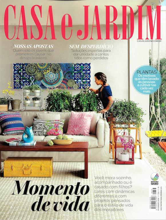 Revista casa e jardim fevereiro de 2016 dm engenharia for Casa jardin revista